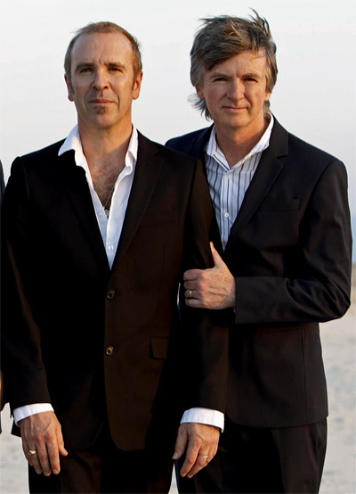 Crowded House 2010 - Neil and Nick