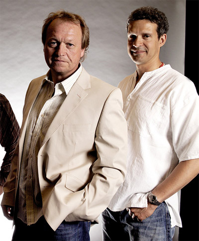 Mark King and Mike Lindup of Level 42 2008