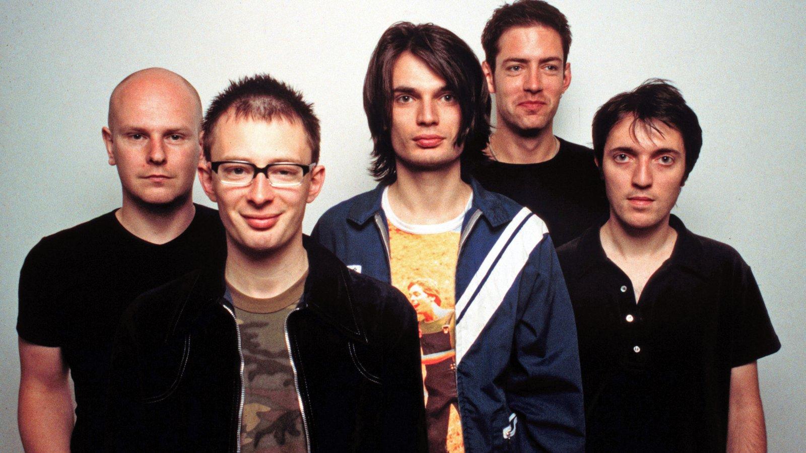 Radiohead promo photo